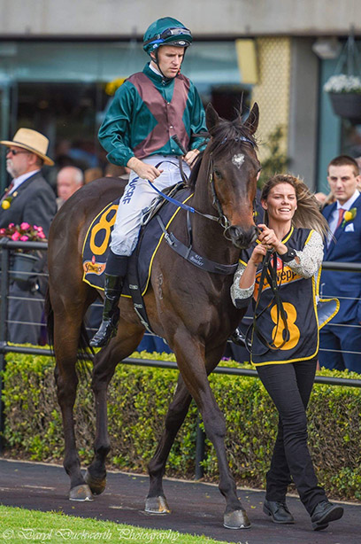 Ridden by Tommy Berry, Lanciato